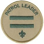 patrol leader badge