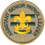 Assistant SEnior patrol leader badge